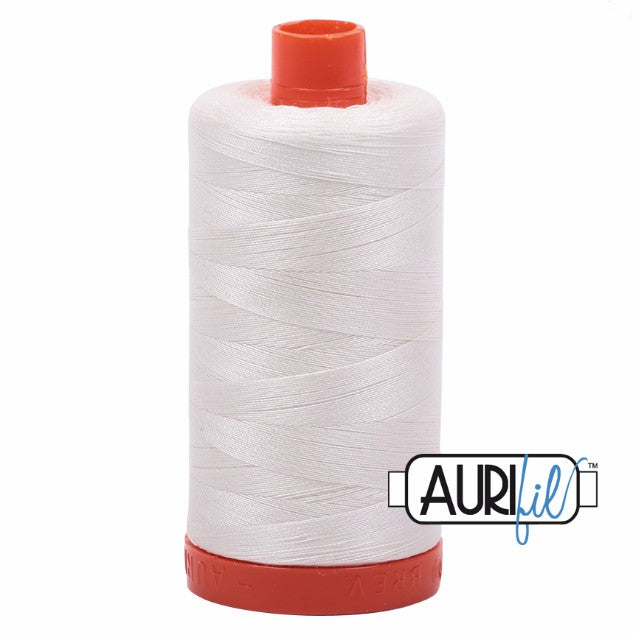 Aurifil Cotton Mako Thread Chalk 50wt MK50-2026