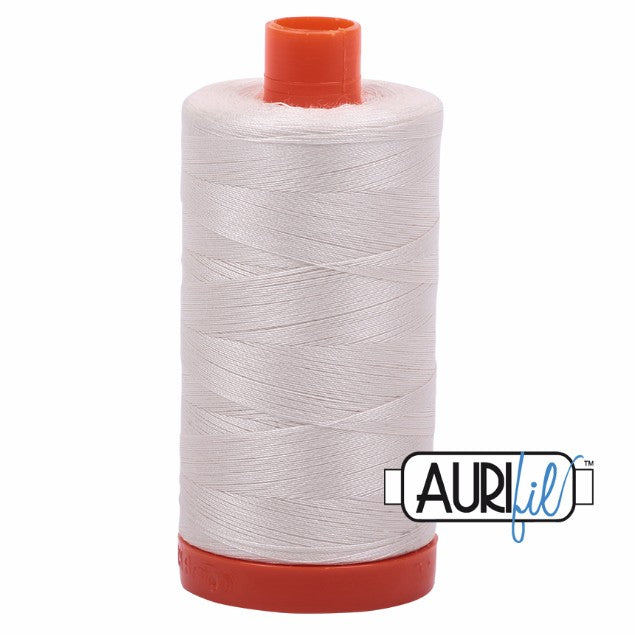 Aurifil Cotton Mako Thread Muslin 50wt MK50-2311