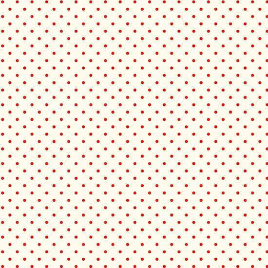 Le Creme Swiss Dots Red