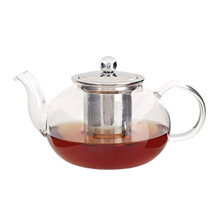 Teapot-Glass with Tea Infuser