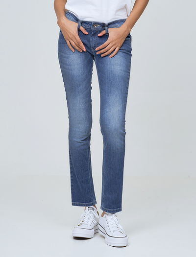 YOUR VINTAGE LOOK IN FRISKY JEANS by BUNIQ FASHION | bq collections| jeans style | ootd | buy jeans online | pepejeans london