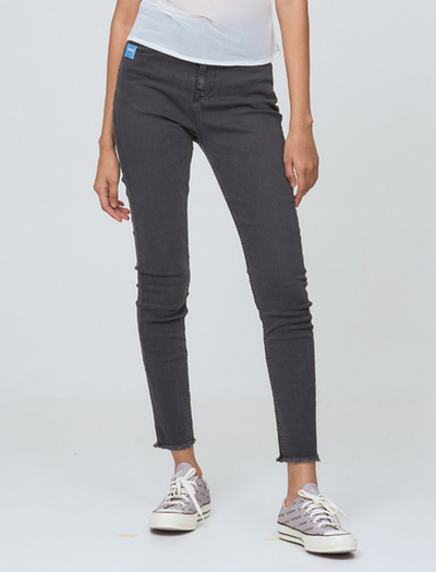 RAW CUT KOLLEN JEANS IN DARK -  BQ JEANS COLLECTIONS - DARK JEANS STYLE