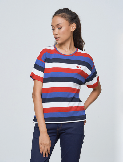 MIKE STRIPED T SHIRT - GAYAKU ONLINE