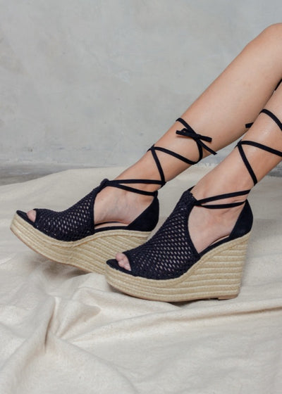 SURE STRAPPED WEDGES - GAYAKU ONLINE