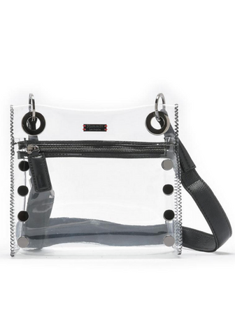 Clear Black Stadium Bag