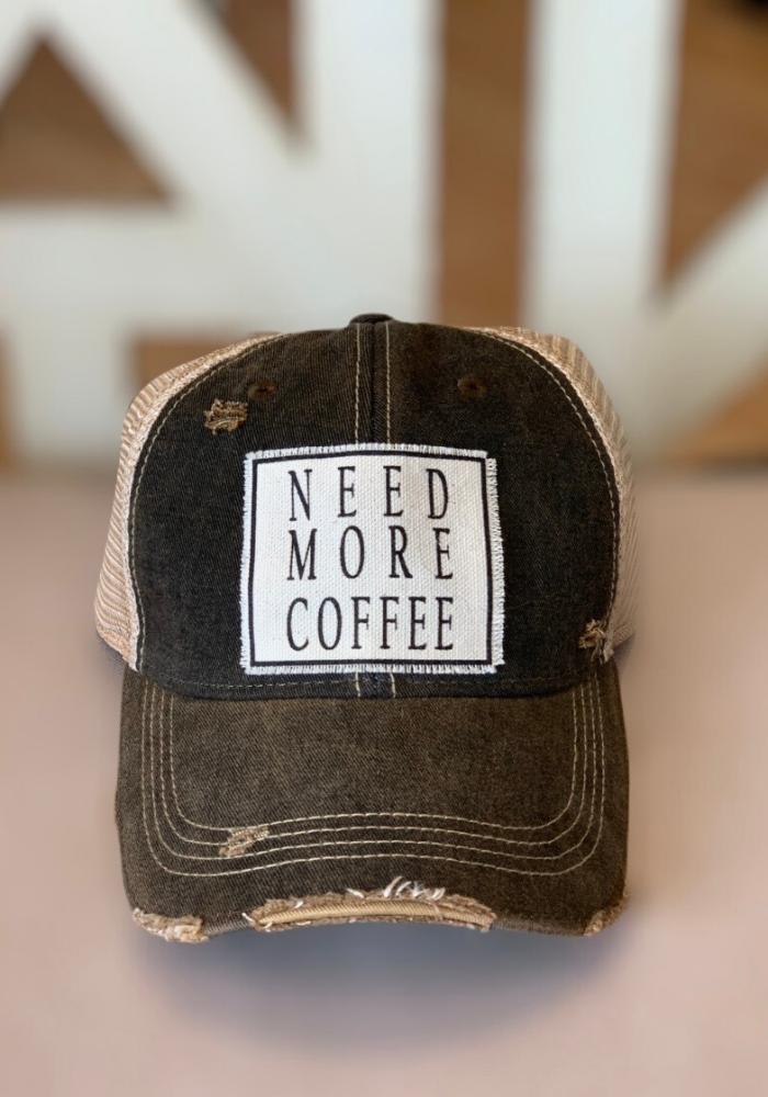 Need More Coffee Hat