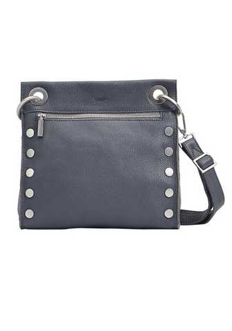 Tony Medium Crossbody Grey Brushed Silver