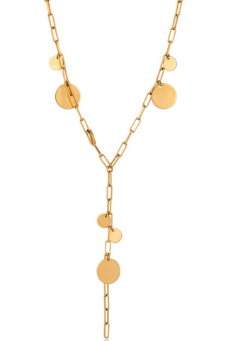 Zara Dot Lariat Necklace