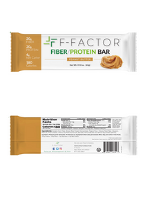 F-FACTOR FIBER/PROTEIN BAR – PEANUT BUTTER