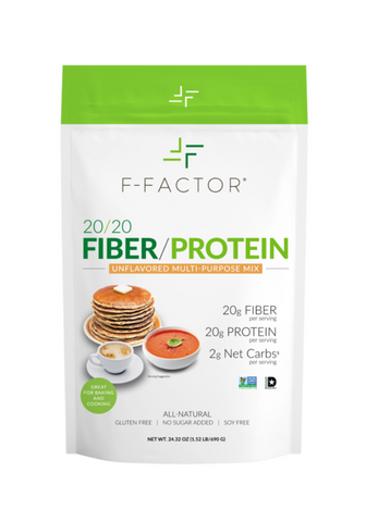 F-FACTOR 20/20 FIBER/PROTEIN POWDER – UNFLAVORED