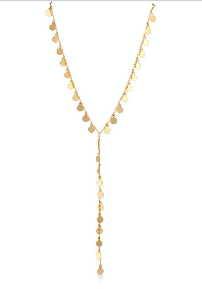 Cha Cha Dot Lariat Necklace