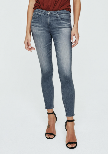 Grey Legging Ankle Jeans