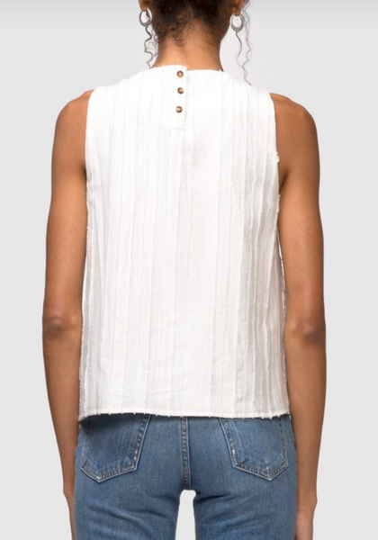 Textured Sleeveless Blouse