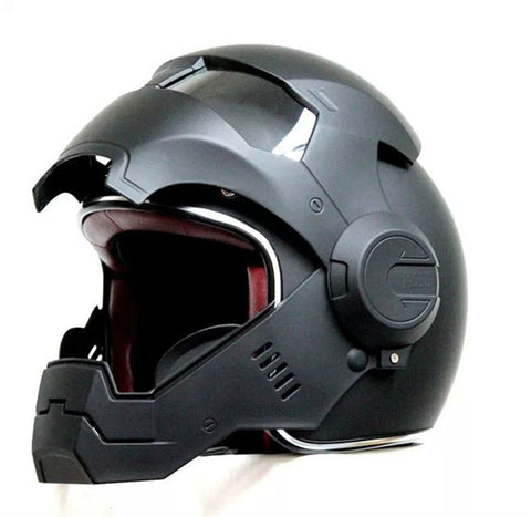 2016 Top hot Black MASEI Man helmet motorcycle helmet half helmet open face helmet casque motocross 610 SIZE:M L XL - Eatan