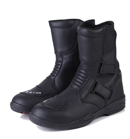 Men's motorcycle boots arcx waterproof protection motorcycle racing motocross boots cruiser long-distance travel shoes - Eatan