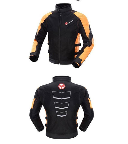 DUHAN Motorcycle Jacket Summer motorbike men women racing jacket breathable motocross jackets with 7 protection pads D183pro - Eatan
