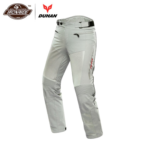 DUHAN Motorcycle Pants Men Breathable Moto Pants Trousers Protective Gear Riding Motorbike Motocross Pants for Spring Summer - Eatan