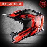 TORC off road brand Helmet adult moto helmet casco motorcycle helmet dirty bike racing cross motocross helmets motorcyle T32 - Eatan
