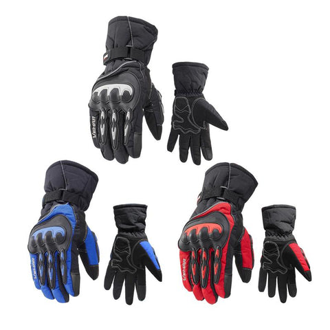 Winter Motorcycle Touch Screen Gloves for Motorcycle Riding Gloves Electric Car Warm Wind-Proof Waterproof Gloves for Unisex - Eatan