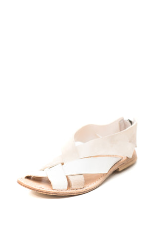 Keep Cream Crossover Sandal