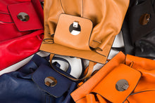 Il Giglio leather backpacks