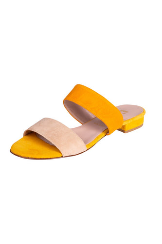 CAMILLA Pascucci Orange Yellow Beige Slides