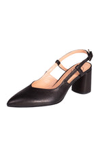 ALLEGRA Manu Mari Slingback in Black