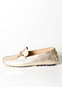 Pascucci Platinum Gold Driving Loafer