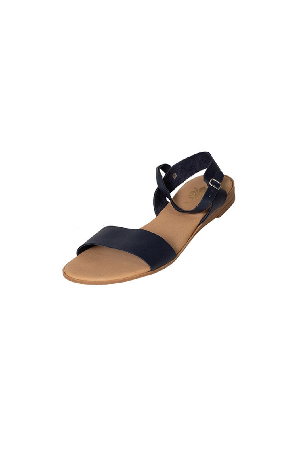 Lucia casual navy sandal two strap less than 100