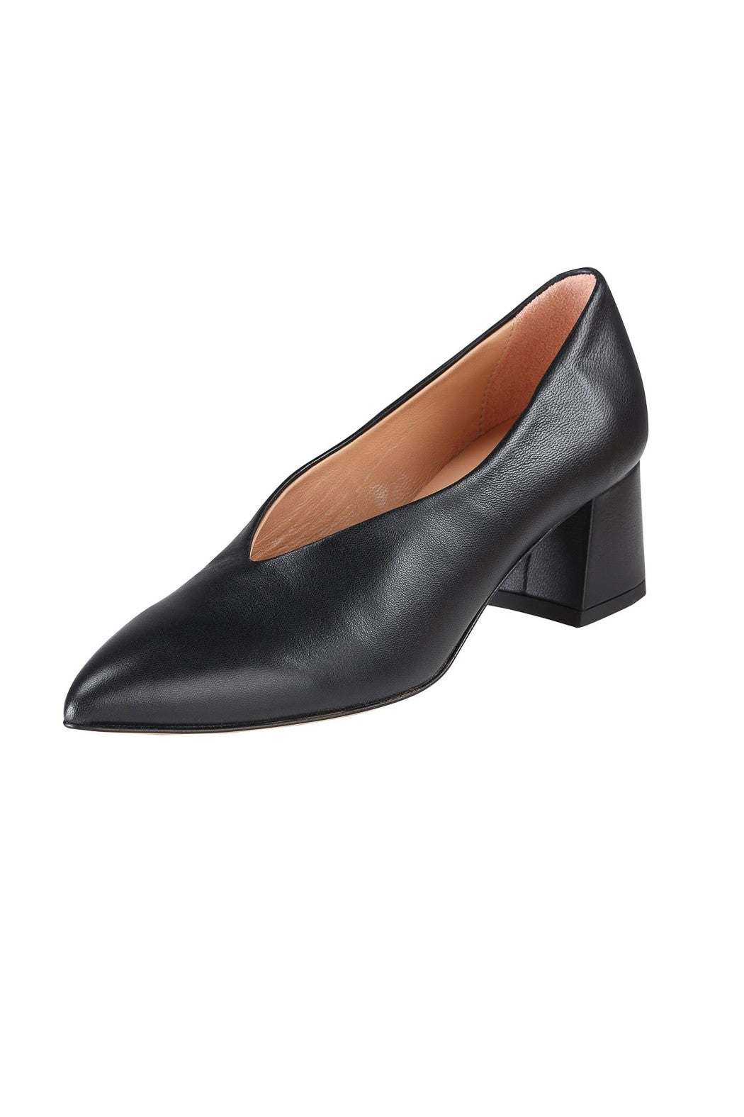 VICTORIA2 Manu Mari Pump in Black