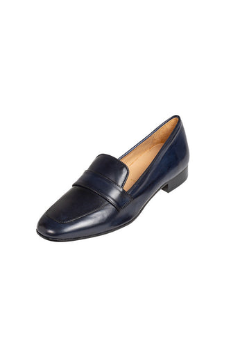 ANTONELLA Navy loafer