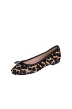 pony hair ballerina animal print ballerina Italian leather ballet flats
