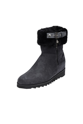 TEODORA Pascucci Grey Wool Lined Ankle Boot