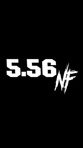 556 NF DECAL