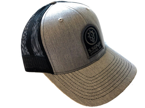 SILVER PATCH HAT