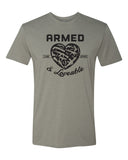 Armed & Loveable Tee (More Colors AVLB)