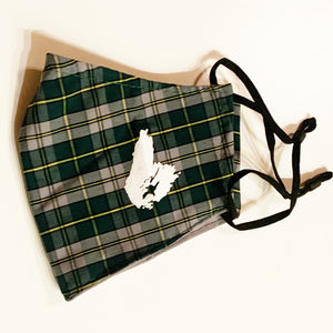 Cape Breton Pride Tartan Face Cover With Print