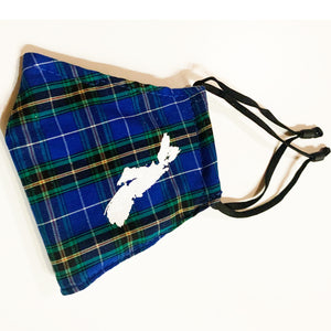 Nova Scotia Proud Tartan Face Cover With Print