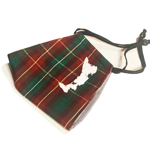 The Prince Edward Islander Tartan Face Cover With Print