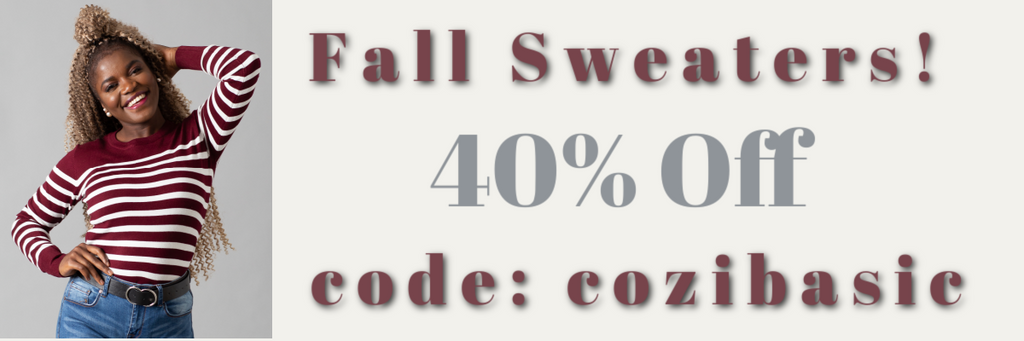 🍂40% Off Fall Sweaters