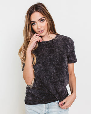 Silas Round Neck Stonewashed T-Shirt