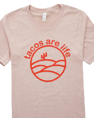 Image of Tacos Are Life Graphic T-Shirt / S-3XL