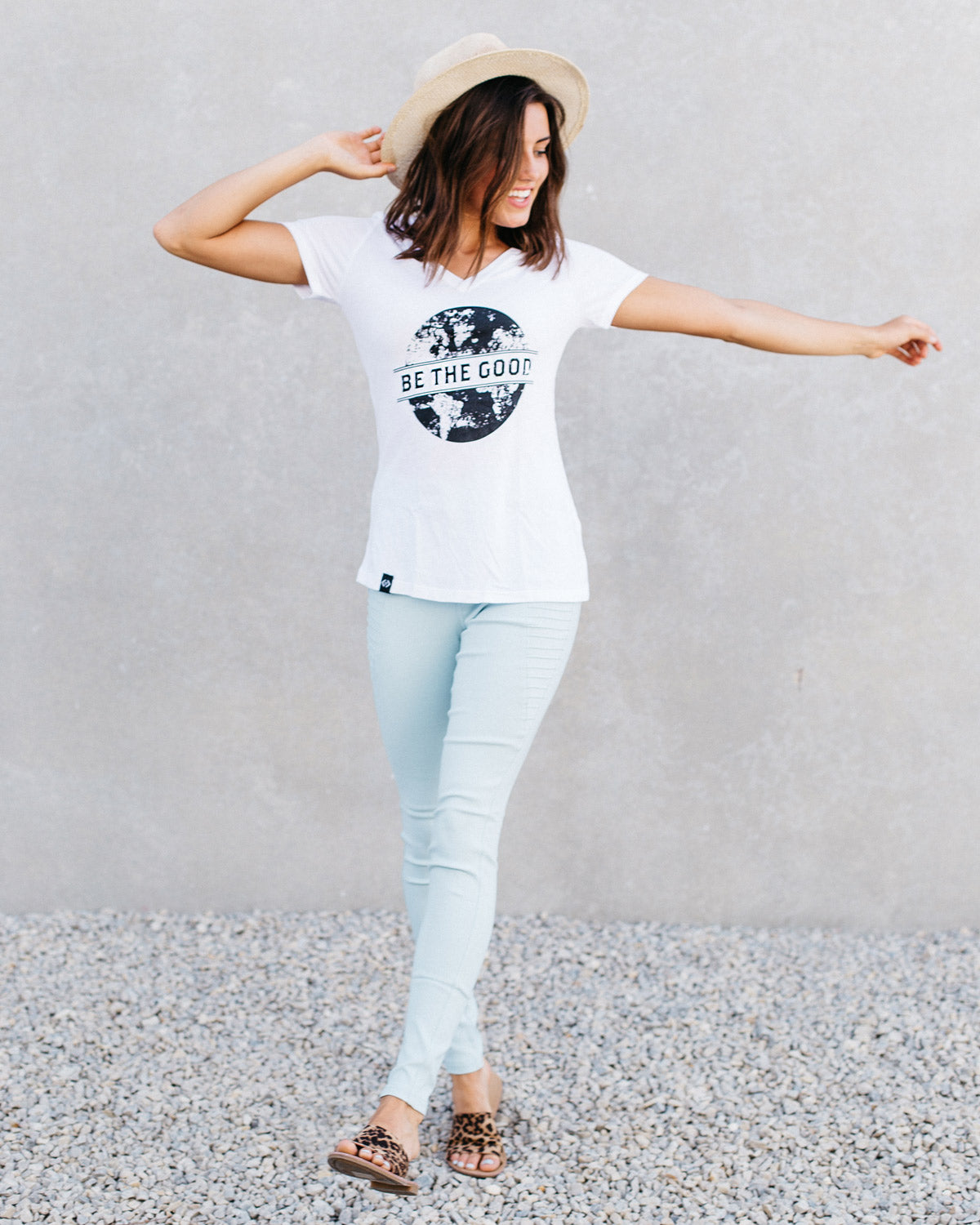5111e60d Be The Good graphic t-shirt. Cents of Style. Cute Women's Graphic ...