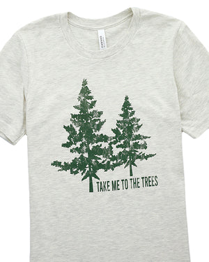 Take Me to the Trees Graphic Tee | XS-3XL