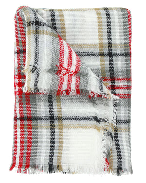 Berlin Plaid Blanket Scarf