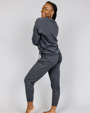 Sandy Cotton Raglan Jogger Set | S-3XL