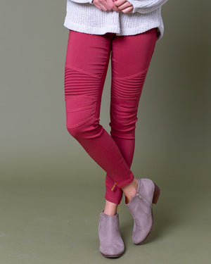 Rita Moto Jeggings | S-3XL