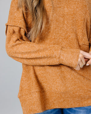 Skylar Melange Sweater | S-3XL