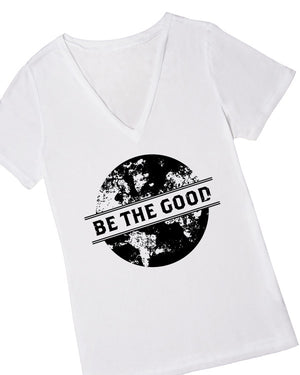 Be The Good Graphic T-shirt, Small / V-Neck, Clothing -- Cents Of Style - 1