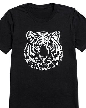 Tiger Head Graphic T-Shirt | S-3XL Unisex